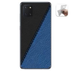 Funda Gel Tpu para Samsung Galaxy Note 10 Lite diseño Cuero 02 Dibujos