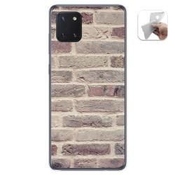 Funda Gel Tpu para Samsung Galaxy Note 10 Lite diseño Ladrillo 01 Dibujos
