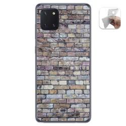 Funda Gel Tpu para Samsung Galaxy Note 10 Lite diseño Ladrillo 02 Dibujos