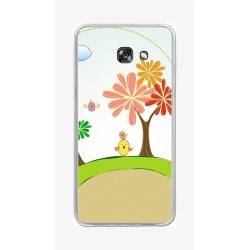 Funda Gel Tpu para Samsung Galaxy A5 (2017) Diseño Primavera Dibujos