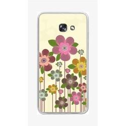 Funda Gel Tpu para Samsung Galaxy A5 (2017) Diseño Primavera En Flor Dibujos