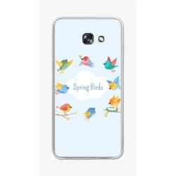 Funda Gel Tpu para Samsung Galaxy A5 (2017) Diseño Spring Birds Dibujos