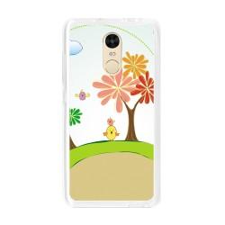 Funda Gel Tpu para Xiaomi Redmi Note 4  / Note 4 Pro Diseño Primavera Dibujos