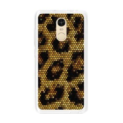 Funda Gel Tpu para Xiaomi Redmi Note 4 / Note 4 Pro Diseño Leopardo Dibujos