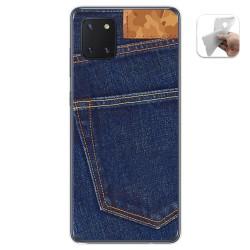 Funda Gel Tpu para Samsung Galaxy Note 10 Lite diseño Vaquero Dibujos