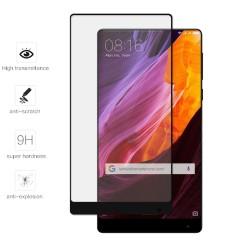 Protector Cristal Templado Frontal Completo Negro para Xiaomi Mi Mix Vidrio