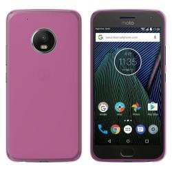 Funda Gel Tpu para Lenovo Moto G5 Plus Color Rosa