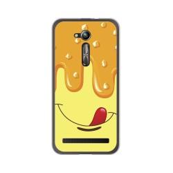 "Funda Gel Tpu para Asus Zenfone Go 5"" (Zb500Kl) Diseño Helado Vainilla Dibujos"