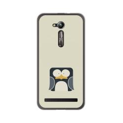 """Funda Gel Tpu para Asus Zenfone Go 5"""" (Zb500Kl) Diseño Pingüino Dibujos"""
