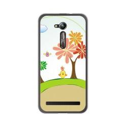 "Funda Gel Tpu para Asus Zenfone Go 5"" (Zb500Kl) Diseño Primavera Dibujos"