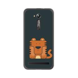 "Funda Gel Tpu para Asus Zenfone Go 5"" (Zb500Kl) Diseño Tigre Dibujos"