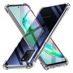 Funda Gel Tpu Anti-Shock Transparente para Samsung Galaxy Note 10 Lite