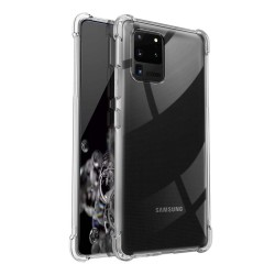 Funda Gel Tpu Anti-Shock Transparente para Samsung Galaxy S20 Ultra