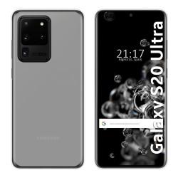 Funda Gel Tpu para Samsung Galaxy S20 Ultra Color Transparente
