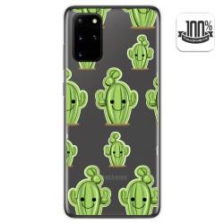 Funda Gel Transparente para Samsung Galaxy S20+ Plus diseño Cactus Dibujos