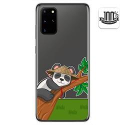 Funda Gel Transparente para Samsung Galaxy S20+ Plus diseño Panda Dibujos