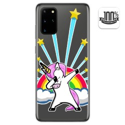 Funda Gel Transparente para Samsung Galaxy S20+ Plus diseño Unicornio Dibujos
