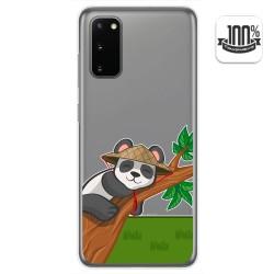 Funda Gel Transparente para Samsung Galaxy S20 diseño Panda Dibujos