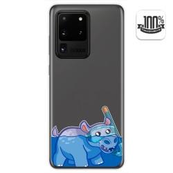 Funda Gel Transparente para Samsung Galaxy S20 Ultra diseño Hipo Dibujos