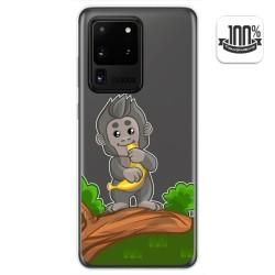 Funda Gel Transparente para Samsung Galaxy S20 Ultra diseño Mono Dibujos
