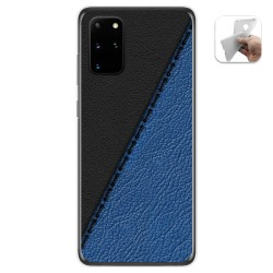Funda Gel Tpu para Samsung Galaxy S20+ Plus diseño Cuero 02 Dibujos
