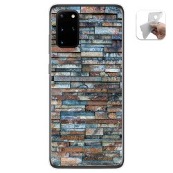 Funda Gel Tpu para Samsung Galaxy S20+ Plus diseño Ladrillo 05 Dibujos