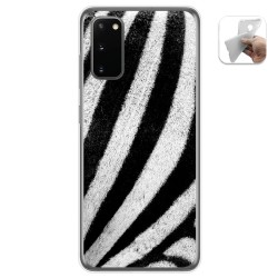 Funda Gel Tpu para Samsung Galaxy S20 diseño Animal 02 Dibujos
