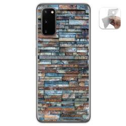 Funda Gel Tpu para Samsung Galaxy S20 diseño Ladrillo 05 Dibujos