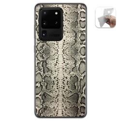 Funda Gel Tpu para Samsung Galaxy S20 Ultra diseño Animal 01 Dibujos