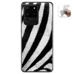 Funda Gel Tpu para Samsung Galaxy S20 Ultra diseño Animal 02 Dibujos