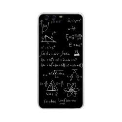 Funda Gel Tpu para Huawei P10 Plus Diseño Formulas Dibujos