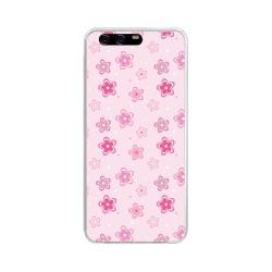 Funda Gel Tpu para Huawei P10 Plus Diseño Flores Dibujos