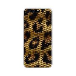 Funda Gel Tpu para Huawei P10 Plus Diseño Leopardo Dibujos