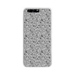 Funda Gel Tpu para Huawei P10 Plus Diseño Letras Dibujos