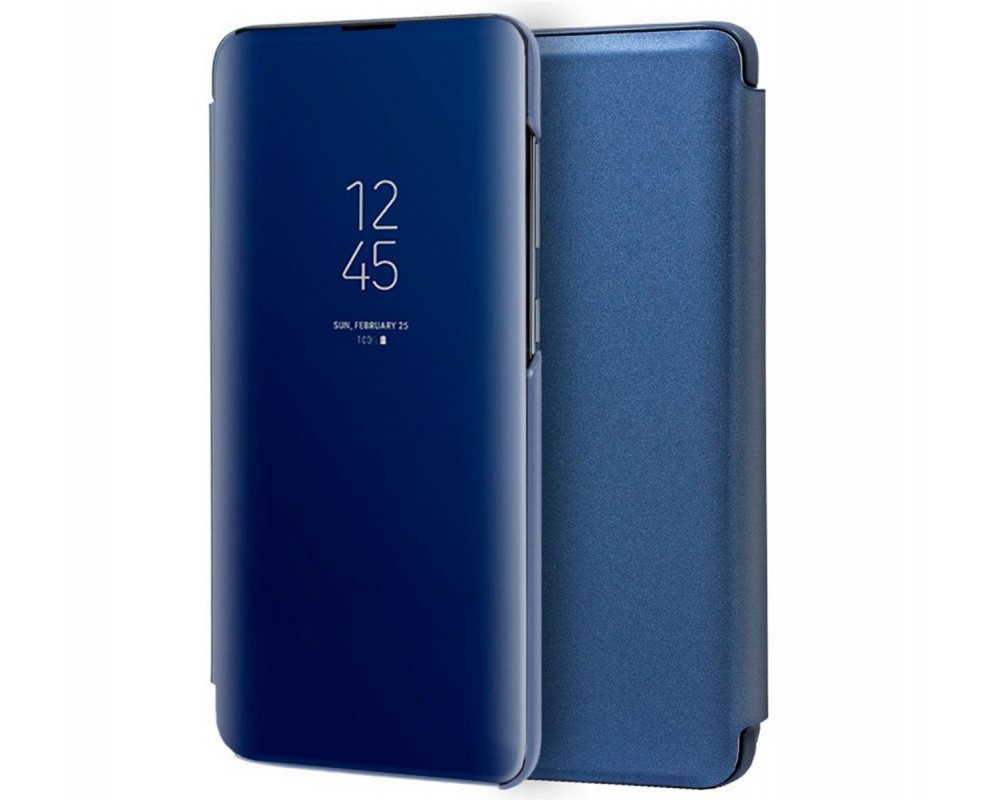 Funda Flip Cover Clear View para Samsung Galaxy S20+ Plus color Azul