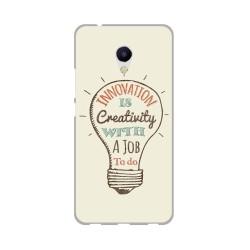Funda Gel Tpu para Meizu M5S Diseño Creativity Dibujos