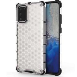 Funda Tipo Honeycomb Armor (Pc+Tpu) Transparente para Samsung Galaxy S20+ Plus