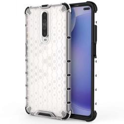 Funda Tipo Honeycomb Armor (Pc+Tpu) Transparente para Xiaomi Pocophone POCO X2