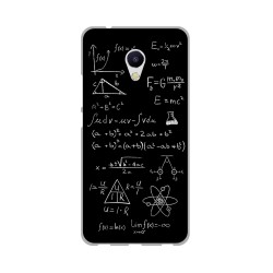 Funda Gel Tpu para Meizu M5S Diseño Formulas Dibujos
