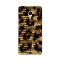 Funda Gel Tpu para Meizu M5S Diseño Leopardo Dibujos