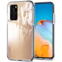 Funda Silicona Gel TPU Transparente para Huawei P40 Pro