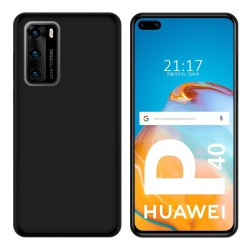 Funda Silicona Gel TPU Negra para Huawei P40