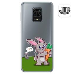 Funda Gel Transparente para Xiaomi Redmi Note 9S / Note 9 Pro diseño Conejo Dibujos