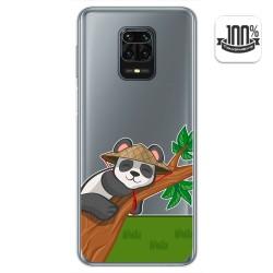 Funda Gel Transparente para Xiaomi Redmi Note 9S / Note 9 Pro diseño Panda Dibujos