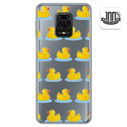 Funda Gel Transparente para Xiaomi Redmi Note 9S / Note 9 Pro diseño Pato Dibujos