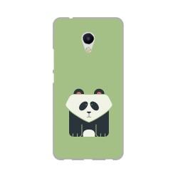 Funda Gel Tpu para Meizu M5S Diseño Panda Dibujos