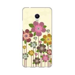 Funda Gel Tpu para Meizu M5S Diseño Primavera En Flor Dibujos
