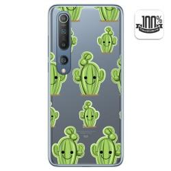 Funda Gel Transparente para Xiaomi Mi 10 / Mi 10 Pro diseño Cactus Dibujos