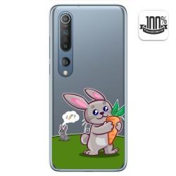 Funda Gel Transparente para Xiaomi Mi 10 / Mi 10 Pro diseño Conejo Dibujos
