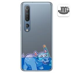 Funda Gel Transparente para Xiaomi Mi 10 / Mi 10 Pro diseño Hipo Dibujos
